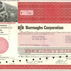 Burroughs Corporation (IT009)