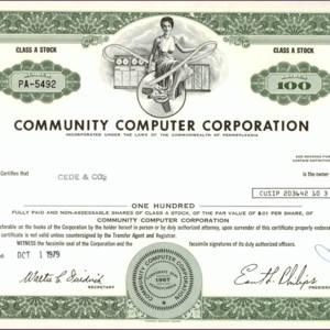 Community Computer Corporation (IT015)