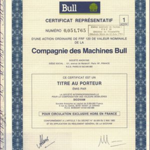 Compagnie des Machines Bull (IT008)