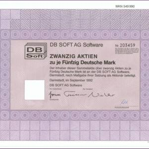 DB Soft AG Software (IT018)