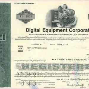 Digital Equipment Corporation (IT020)