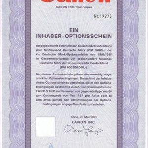 Canon Inc. (IT010)