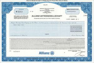 Allianz SE (VU03)