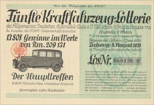 Allgemeiner Deutscher Automobil-Club (ADAC) e. V.  (VU01)