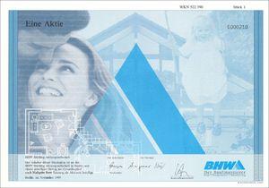 BHW Holding AG (VU04)