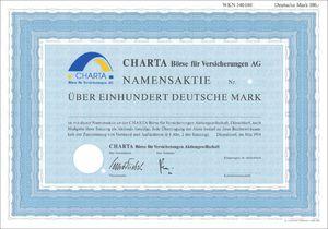 CHARTA Börse für Versicherungen AG (VU06)