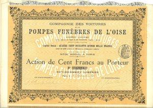 Compagnie des Voitures et des Pompes Funèbres de L`Oise (MF015)