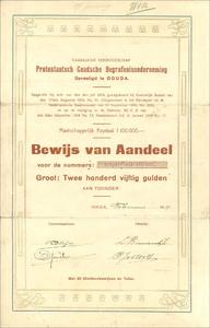 Protestantsch Goudsche Begrafenisonderneming Naamlooze Vennootschap (MF003)