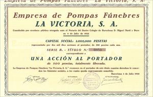 Empresa de Pompas Fúnebres La Victoria, S.A. (MF020)