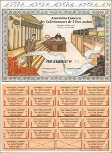 Collectionneurs de Titres anciens (Association Française des ...) (IT013)